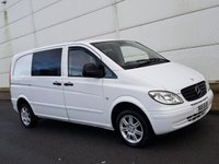 USED 2008 MERCEDES-BENZ VITO 2.1 109 CDI COMPACT SWB 1d 95 BHP