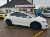 2015 HONDA CIVIC 1.6 I-DTEC Sport 5 door Diesel £10699.00