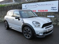 2014 MINI COUNTRYMAN 1.6 COOPER S ALL4 5d 184 BHP £14995.00
