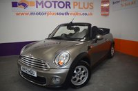 USED 2012 12 MINI CONVERTIBLE 1.6 ONE 2d 98 BHP