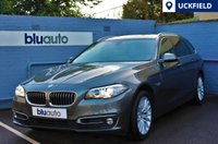 USED 2014 14 BMW 520 2.0D LUXURY TOURING AUTO 181 BHP BMW History, Professional Satellite Navigation, Front & Rear Parking Sensors, Full Cream Leather Interior with Heated Front Seats, Bluetooth, Cruise & Dual Climate Control