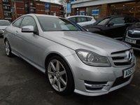 2012 MERCEDES-BENZ C CLASS 2.1 C250 CDI BLUEEFFICIENCY AMG SPORT 2d 204 BHP £8994.00