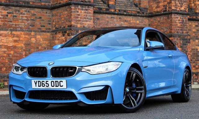 2015 65 BMW M4 3.0 M4 2d AUTO 426 BHP [LEATHER DASH]
