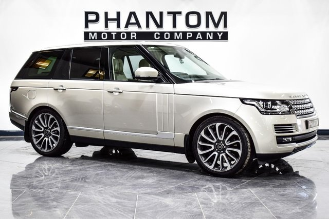 USED 2013 13 LAND ROVER RANGE ROVER 4.4 SDV8 AUTOBIOGRAPHY 5d AUTO 339 BHP