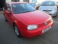 2000 VOLKSWAGEN GOLF 2.0 GTI 5d 114 BHP £POA