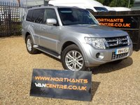 USED 2014 14 MITSUBISHI SHOGUN 3.2 DI-D 4WORK SG2 3d 200 BHP WINDOW VAN