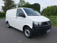 USED 2015 15 VOLKSWAGEN TRANSPORTER T30 STARTLINE 2.0 TDI BLUEMOTION 115 BHP Direct From Leasing Company / Electric Authority With Only 31000 Miles! Higher Specification Model With Air Con, Electric Pack And Quality Internal Racking Superb Condition Throughout!