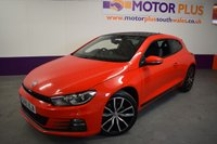 2015 VOLKSWAGEN SCIROCCO 2.0 GT TSI BLUEMOTION TECHNOLOGY 2d 218 BHP £15480.00