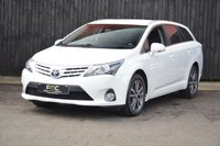 USED 2014 64 TOYOTA AVENSIS 2.0 D-4D ICON BUSINESS EDITION 5d 124 BHP Sat Nav - Cheap To Run