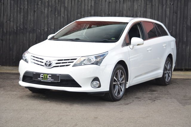 2014 64 TOYOTA AVENSIS 2.0 D-4D ICON BUSINESS EDITION 5d 124 BHP