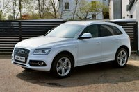 USED 2014 14 AUDI Q5 2.0 TDI QUATTRO S LINE PLUS 5d AUTO 177 BHP 6 MONTHS RAC WARRANTY FREE + 12 MONTHS ROAD SIDE RECOVERY!