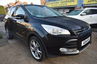 USED 2014 14 FORD KUGA 2.0 TITANIUM TDCI 5d AUTO 160 BHP COMES WITH 6 MONTHS WARRANTY
