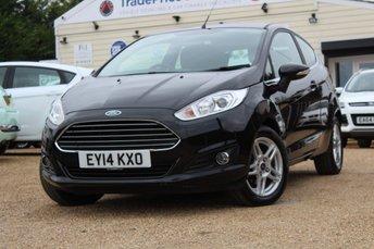 2014 FORD FIESTA 1.6 ZETEC 3d AUTO 104 BHP £7950.00