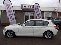 2012 BMW 1 SERIES 1.6 116D EFFICIENTDYNAMICS 5DR DIESEL HATCHBACK 114 BHP £8380.00