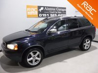 USED 2011 11 VOLVO XC90 2.4 D5 SE AWD 5d 197 BHP A REAL EXAMPLE OF A STUNNING AND VERY WELL LOOKED AFTER UTILITY VEHICLE , FINISHED IN GLEAMING BLACK  FULL SERVICE HISTORY,   BLACK LEATHER INTERIOR WITH ELEC MEMORY  , 7 SEATS FRONT SPOT LIGHTS, CROME ROOF RAILS,  18INCH UPGRADED ALLOYS, , SAT NAV, LEATHER CLAD MULTI FUNCTION STEERING WHEEL,  BLUE TOOTH PREP, VOICE COMMAND,  AUX USB LEAD, AUTO HEAD LAMPS,  DAD CD RADIO