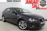 USED 2012 62 AUDI A3 2.0 SPORTBACK TDI SPORT 5DR 138 BHP £30 ROAD TAX £30 12 MONTHS ROAD TAX + LEATHER SEATS + CLIMATE CONTROL + MULTI FUNCTION WHEEL + RADIO/CD/AUX + ELECTRIC WINDOWS + ELECTRIC/HEATED MIRRORS + 17 INCH ALLOY WHEELS