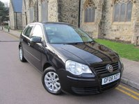 USED 2008 08 VOLKSWAGEN POLO 1.4 SE 5d AUTO 79 BHP +++ ONLY 42000 MILES +++