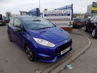 USED 2015 64 FORD FIESTA 1.6 ST-3 3d 180 BHP