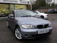 2005 BMW 1 SERIES 2.0 118I ES 5d AUTO 128 BHP £3195.00