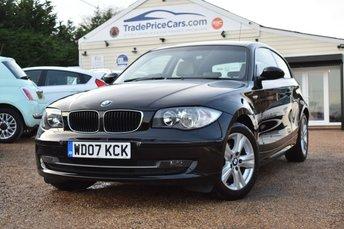 2007 BMW 1 SERIES 2.0 120D SE 3d 175 BHP £3950.00