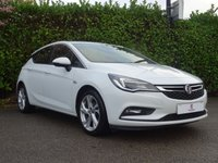 """USED 2015 65 VAUXHALL ASTRA 1.4 SRI 5d 148 BHP Full Main Dealer Service History, One Owner From New, Intellilink r4.0 Car Play, Vauxhall On Star, Rear Parking Sensors, 17"""" Sri Alloy Wheels, Tinted Glass, Cruise Control, Air Conditioning, Auto Lights, Front + Rear Fog Lights, Drive Away In Under 1 Hour"""