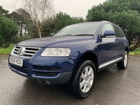 USED 2005 05 VOLKSWAGEN TOUAREG 2.5 TDI SPORT 5d AUTO 172 BHP NICE CLEAN WELL LOOKED AFTER CAR LAST OWNER 12 YEARS DRIVES SPOT ON WITH FSH