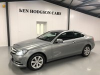 2013 MERCEDES-BENZ C CLASS 2.1 C220 CDI EXECUTIVE SE 2d AUTO 168 BHP COUPE £10995.00