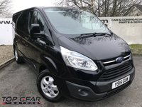 USED 2015 15 FORD TRANSIT CUSTOM 290 2.2 125 BHP LIMITED L1 H1 **85 VANS IN STOCK**