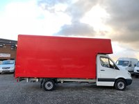 USED 2013 62 MERCEDES-BENZ SPRINTER 2.1 313 CDI LWB LUTON BOX  RARE 15FT BOX, ONE OWNER, ONLY 68K MILES,ROLLER SHUTTER