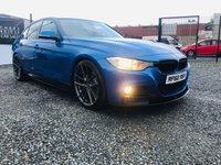 2013 BMW 3 SERIES 3.0 330D M SPORT 4d AUTO 255 BHP £13995.00