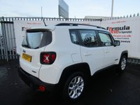 USED 2015 65 JEEP RENEGADE 1.4 MultiAir II Longitude (s/s) 5dr 1 OWNER+SAT NAV+VALUE