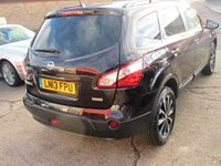 USED 2013 13 NISSAN QASHQAI+2 2.0 360 PLUS 2 5d 140 BHP WARRANTY~BLUETOOTH~PANOROOF~CAMERAS