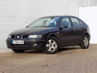 2004 SEAT LEON 1.6 SX 5dr £989.00