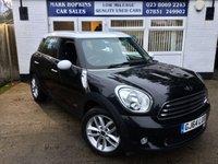 2014 MINI COUNTRYMAN 1.6 COOPER ALL4 5d AUTO 121 BHP £13495.00