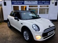 USED 2015 65 MINI HATCH COOPER 1.5 COOPER 3d 134 BHP 38K 1LADY OWNER HIGH SPEC MODEL ONLY £20/YR TAX  EXC CONDITION