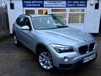 2012 BMW X1 2.0 XDRIVE18D SPORT 5d AUTO 141 BHP £12495.00
