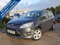 USED 2013 63 FORD GRAND C-MAX 1.6 ZETEC TDCI 5d 114 BHP LOW MILES, 7 SEATS, GREAT FAMILY CAR