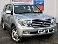 USED 2010 60 TOYOTA LAND CRUISER Rare 4.5 V8 Diesel 4x4 AUTO 5dr 7 Seat Large Family SUV with Sat Nav Heated Leather Seats Electric Sunroof Rear Camera  2 FORMER KEEPERS