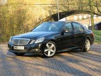 2010 MERCEDES-BENZ E CLASS 2.1 E220 CDI BLUEEFFICIENCY SE 4d AUTO 170 BHP £6511.00