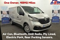2015 RENAULT TRAFIC 1.6 DCi SL27 BUSINESS PLUS 115 BHP with Air Con, DAB Radio, Bluetooth, Ply Lined, AUX £9480.00