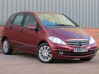 USED 2010 60 MERCEDES-BENZ A CLASS 2.0 A180 CDI ELEGANCE SE 5d AUTO 108 BHP LOW MILEAGE, FANTASTIC SPECIFICATION