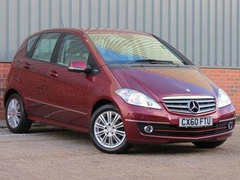 2010 MERCEDES-BENZ A CLASS 2.0 A180 CDI ELEGANCE SE 5d AUTO 108 BHP £5995.00