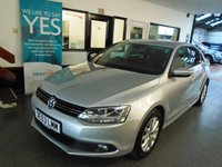 2013 VOLKSWAGEN JETTA 1.6 LTD EDITION TDI BLUEMOTION TECHNOLOGY 4d 104 BHP £8495.00