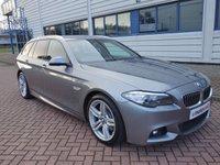 2014 BMW 5 SERIES 2.0 520D M SPORT TOURING 5d AUTO 181 BHP £13690.00