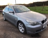USED 2005 05 BMW 5 SERIES 3.0 530D SE 4d 215 BHP 6 MONTHS PARTS+ LABOUR WARRANTY+AA COVER