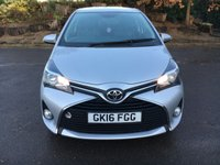 USED 2016 16 TOYOTA YARIS 1.0 VVT-I ICON 3d 69 BHP Rear Parking Camera, Alloys, Cruise Control