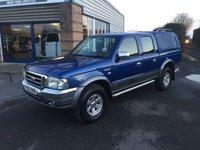 2005 FORD RANGER 2.5 THUNDER D/C 1d 107 BHP DOUBLE CAB NO VAT £3900.00