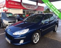 2006 PEUGEOT 407 SW XENITH HDI ESTATE £1295.00