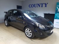 USED 2014 64 VAUXHALL CORSA 1.0 EXCITE ECOFLEX 3d 64 BHP * TWO OWNERS * LONG MOT *