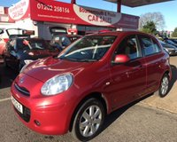 2012 NISSAN MICRA 1.2 ACENTA 5d AUTO 79 BHP *ONLY 20,000 MILES* £5995.00